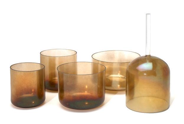 Smokey Quartz Alchemy Crystal Singing Bowl