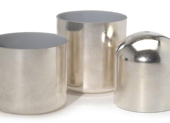 Silver Alchemy Crystal Singing Bowl
