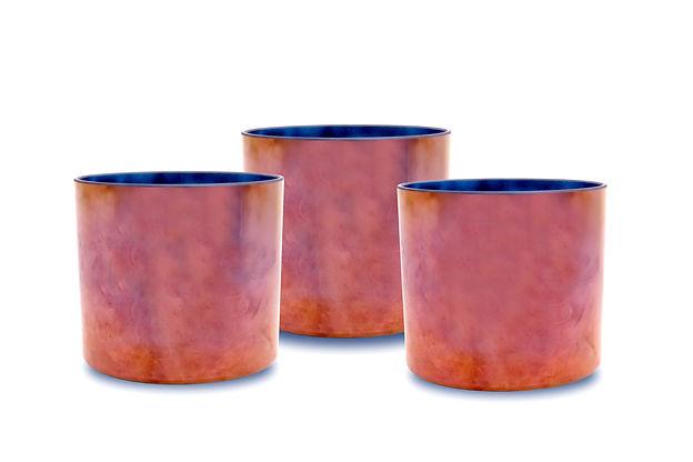 Tibetan Copper Quartz Alchemy Crystal Singing Bowl