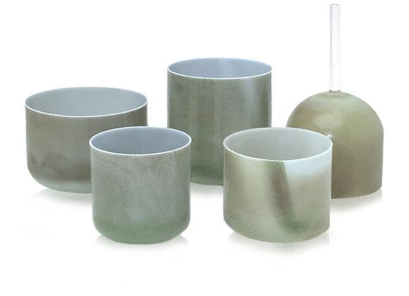 Emerald Alchemy Crystal Singing Bowl