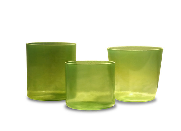 Peridot Alchemy Crystal Singing Bowl