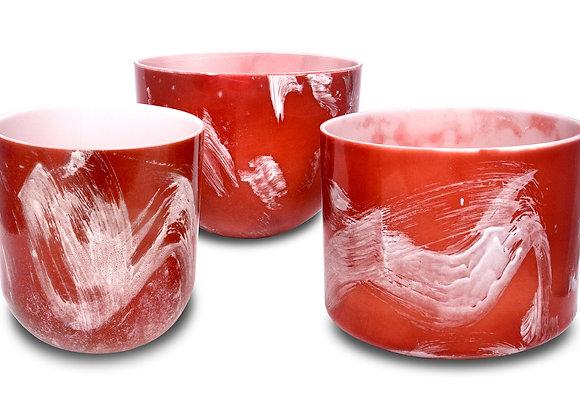 Rhodochrosite Alchemy Crystal Singing Bowl