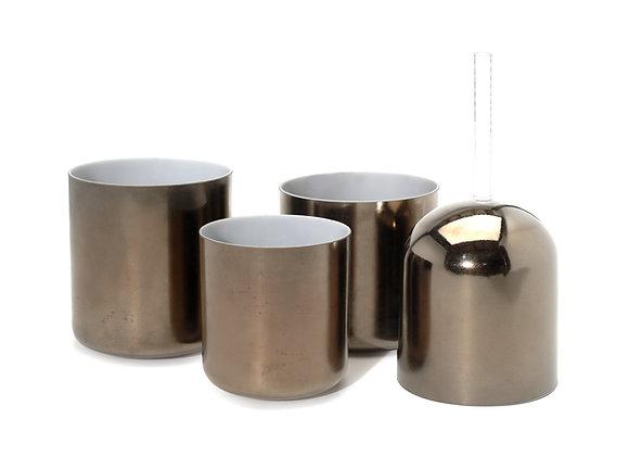 Titanium Alchemy Crystal Singing Bowl