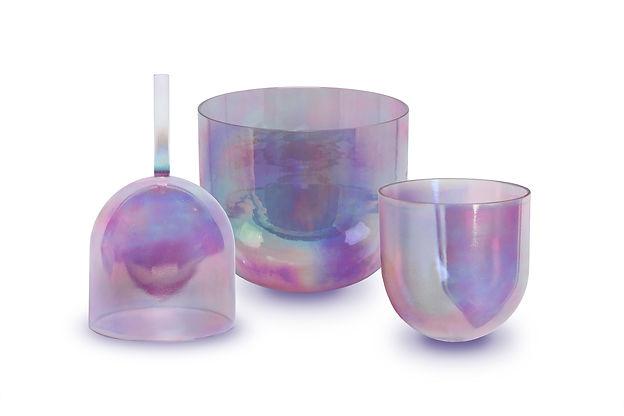 St. Germain Aura Alchemy Crystal Singing Bowl