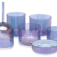 Androgynous Indium Alchemy Crystal Singing Bowl
