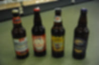 A selection of locally produced Ales