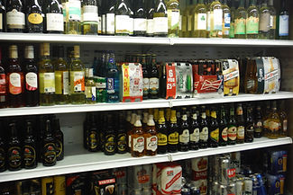 A selection of beers and ciders