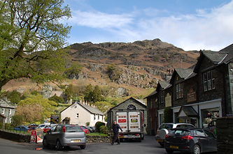 Delivery van at Langdale Co-operative