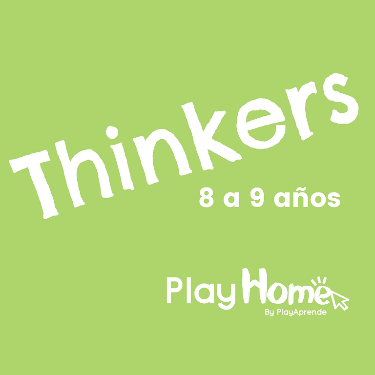 THINKERS - 8 a 9 años