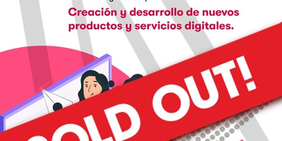 Masterclass  Productos digitales / Creación y desarrollo