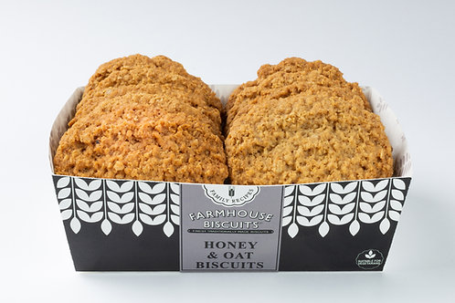 Farmhouse Biscuits - Honey & oat - 200g