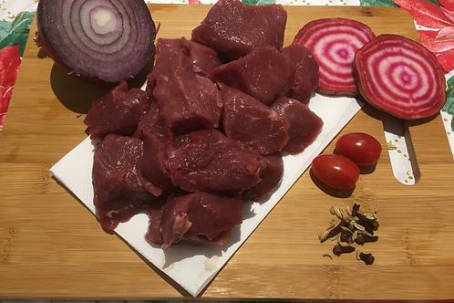 Diced Chuck Steak - Per Kg