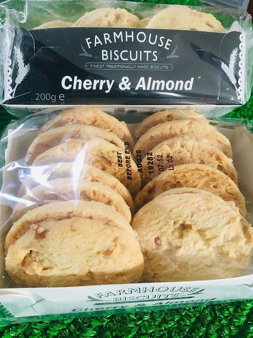 Farmhouse Biscuits - Cherry & Almond - 200g