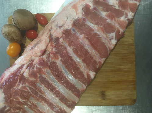 Plain Pork Belly Ribs - Per Kg