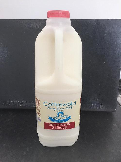 Cotteswold Skimmed Milk 2Litre