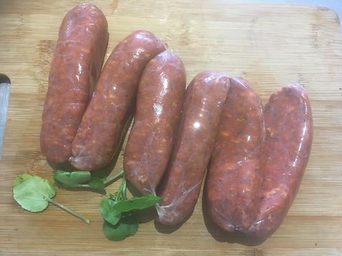 Chorizo Style Sausages -1.29Kg
