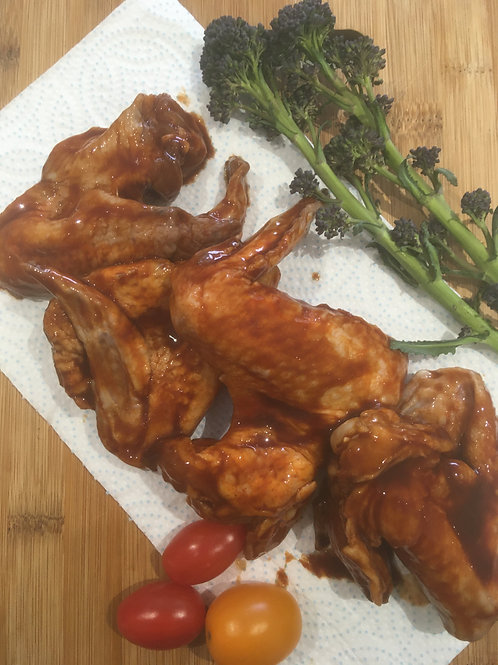 Flavoured Wings (Three Joints) - Per Kg