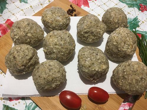 (10 x 2oz) Gourmet Sage & Onion Stuffing Balls