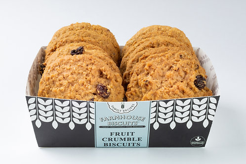 Farmhouse Biscuits - Fruit Crumble Biscuits  - 200g
