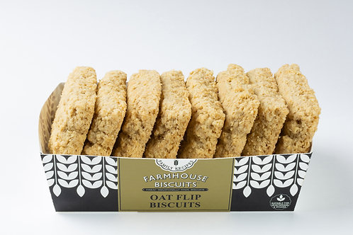 Farmhouse Biscuits - Oat Flips - 200g