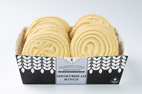 Farmhouse Biscuits - Shortbread Rings - 200g