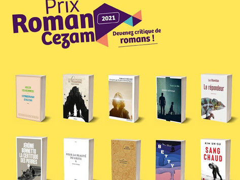 Prix Cezam 2021