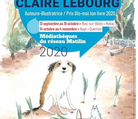 """Exposition Dis-moi ton livre """"Claire Lebourg"""""""