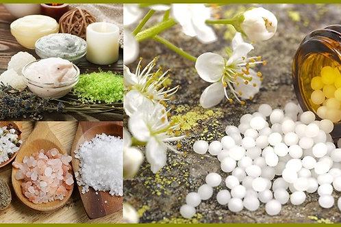 Curso Biosales y pomadas con Sales de Schüssler (elaboración)