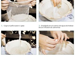 Elaboración de una compresa de manzanilla