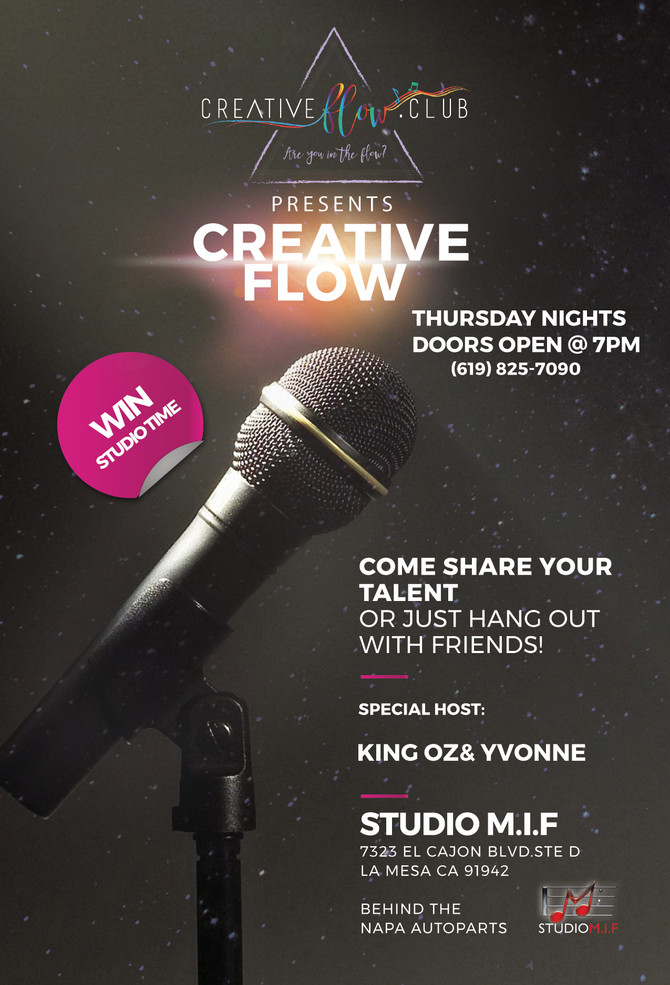 "Creative Flow ""Open Mic"""