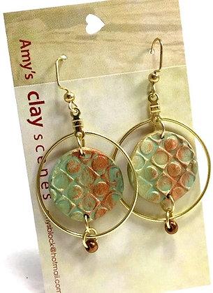 Sage Green Dangle Earrings