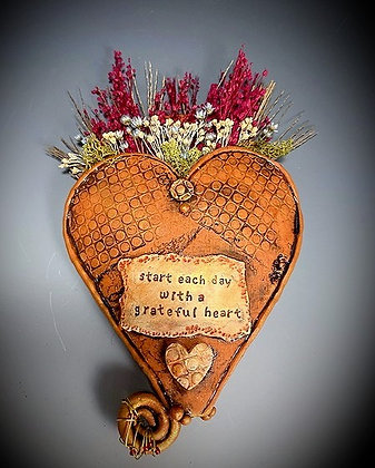 Dried Flower Wall Plaque
