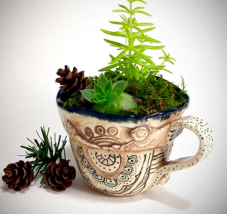 Teacup Miniature Planter1