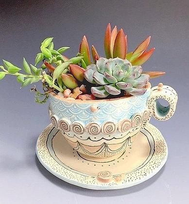 Tea Cup Planter Series 1