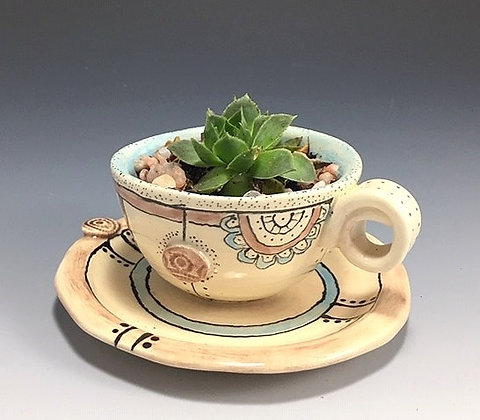 Tea Cup Planter Series