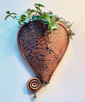 Heart Shaped Wall Planter