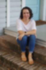 Shasta on Kerouac House porch.jpg