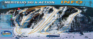 Teijo Ski & Action Park, slopes