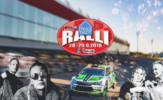 SM TEIJO-TALOT RALLY, METSÄMÄKI RALLY FESTIVAL
