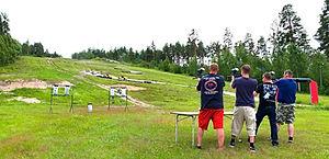 Teijo Action Park, tarkkuusammunta, pain