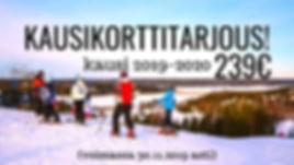 Teijo Ski Resort, kausikortti marraskuu.