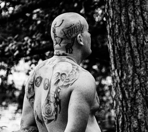 Loimovuori, The Other Danish Guy, tattoo