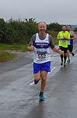 Martin at the Pontefract Half Marathon