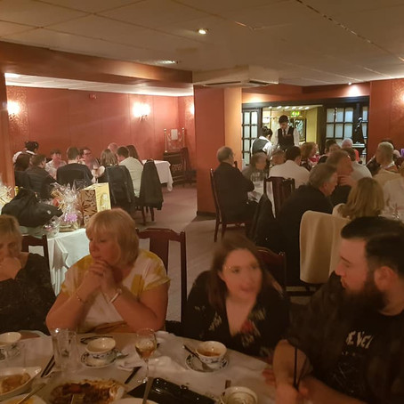 6th Annual Fundraising Meal raises £1446 for Water Filtration project