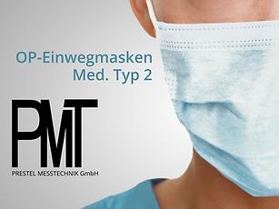 OP Einwegmasken - Atemschutz - Infektion