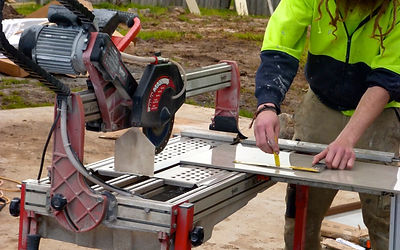 Zebz Tiling Wet Tile Saw