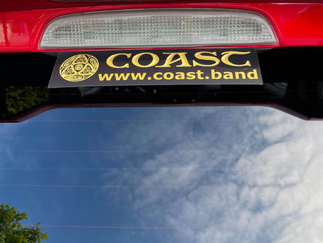 Just in today Official COAST Logo         Car stickers