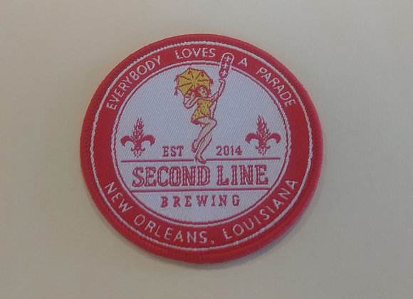 Second Line Logo Patch