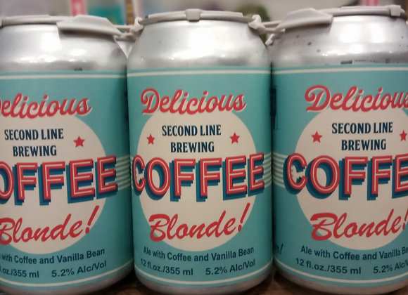 Coffee Blonde - 6 Pack Cans