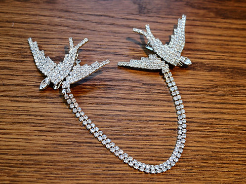 Swarovski Hummingbird Chain